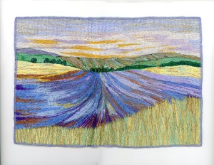 Lavender Panorama