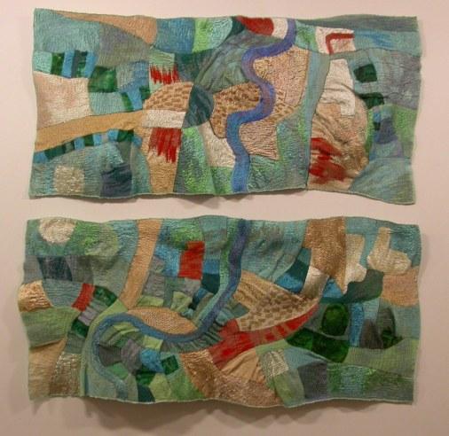 1 Arunscape, diptych 2004