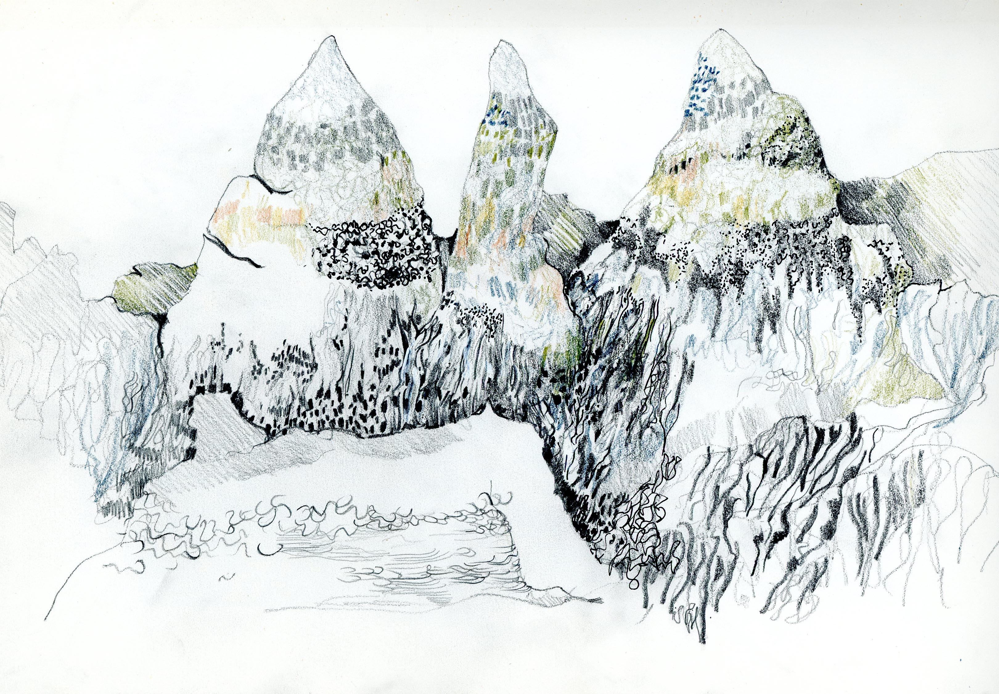 Isla rocks